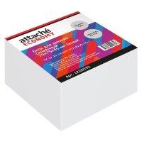 Блок для записей Attache Economy 75x75x35 мм белый проклеенный плотность 65 г/кв.м
