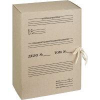 Короб архивный Attache картонный, бурый
