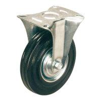 Колесо для тележки FC 200 неповоротное 200 мм