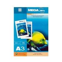 Фотобумага для цветной струйной печати MEGA Jet (матовая  А3  200 г/кв.м  50 листов)