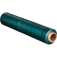 Стрейч-пленка для ручной упаковки 190 м x 50 см x 23 мкм зеленая вес 2 кг престретч 180%