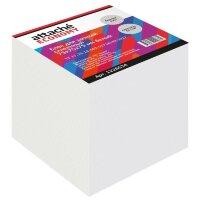 Блок для записей Attache Economy 75x75x75 мм белый проклеенный плотность 65 г/кв.м