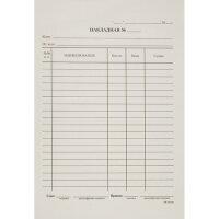 Бухгалтерские бланки Накладная А5 газетная бумага 20 книжек по 100 листов