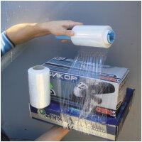 Стрейч-пленка для ручной упаковки 20 мкм x 10 см x 125 м мини-ролл