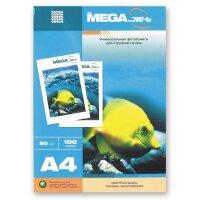 Фотобумага для цветной струйной печати MEGA Jet (матовая  А4  90 г/кв.м 100 листов)