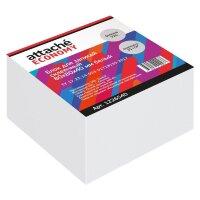 Блок для записей Attache Economy 80x80x40 мм белый проклеенный плотность 65 г/кв.м