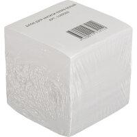 Блок для записей 90x90x90 мм белый плотность 80 г/кв.м