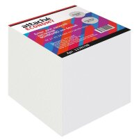 Блок для записей Attache Economy 80x80x80 мм белый плотность 65 г/кв.м