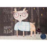 Альбом для рисования 30л А4,склейка,блок 100гр, тиснен фольгой HAPPY 00004