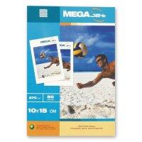 Фотобумага для цветной струйной печати MEGA Jet Ultra Photo (глянцевая  10х15  270 г/кв.м  50 листов)