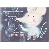 Альбом для рисования 30л А4,склейка,блок 100гр,обл.мелов.карт. Mouse 00006