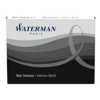Картридж сменный для перьевой ручки WATERMAN Cartridge Size Standard черн 8