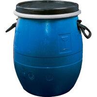 Бочка из ПНД синяя 55 литров