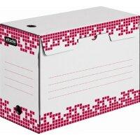 Короб архивный гофрокартон белый 345x150x245 мм Attache Selection