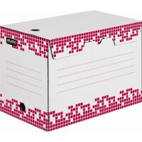 Короб архивный гофрокартон белый 345x200x245 мм Attache Selection