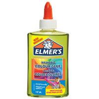Клей для слаймов Elmer's Washable Colour Glue цветной полупрозрачный зеленый 147 мл