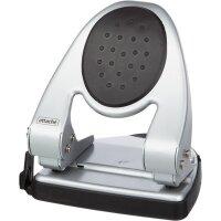 Дырокол Attache 6730 до 30 листов серебристый с линейкой
