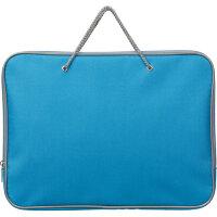 Папка-портфель Attache нейлоновая А4 голубая (340x260 мм 1 отделение)