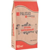 Уголь березовый Palisad для гриля 10 кг