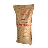 Уголь древесный Grillkoff Стандарт для гриля 10 кг