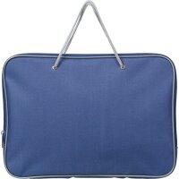 Папка-портфель Attache нейлоновая А4 синяя (340x260 мм)