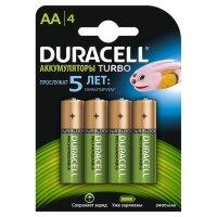 Аккумулятор Duracell AA/HR6-4BL (2400 mAh  4 штуки)