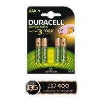 Аккумулятор Duracell AAA/HR03-4BL (850 mAh  4 штуки)