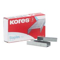 Скобы для степлера № 10 Kores (1000 штук в пачке)