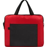 Конференц-сумка для документов Congress полиэстер/микрофибра красная/черная (34x6x29 см)