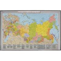 Коврик на стол Attache Россия и сопредельные государства (380х590 мм цветной ПВХ)