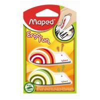 Ластик Maped EgroFun виниловый 2 штуки в упаковке