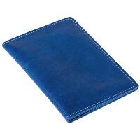 Бумажник водителя Apache из натуральной кожи синего цвета 3442.40