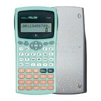 Калькулятор Milan M240 10+2 разрядный 240 функций бирюзовый